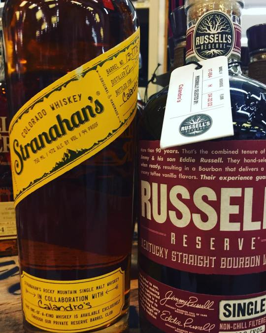 We just received two hand selected whiskey barrels from @russellsreservebourbon and @stranahans to go along…