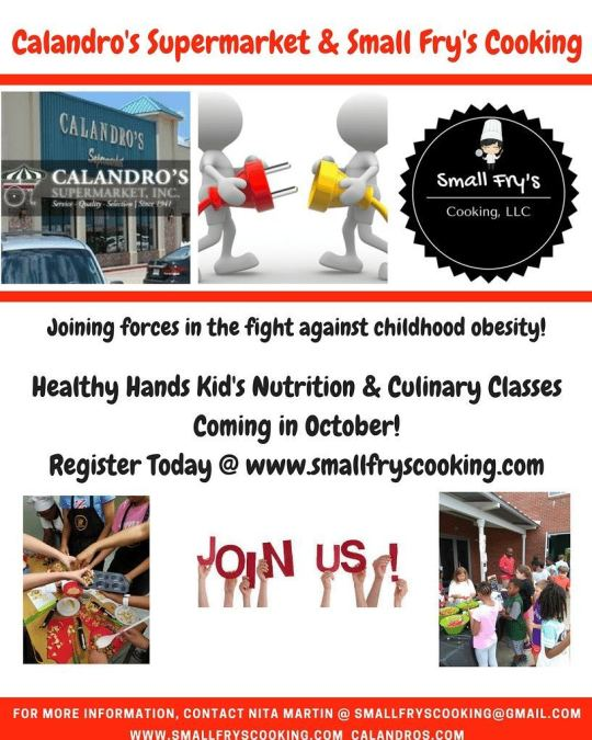 The first @smallfryscooking / #helpinghandscooking event is happening today in about 30 min. @ 1pm…