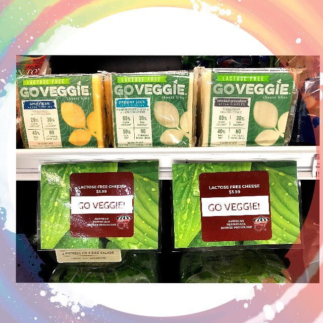 NEW ITEM ALERT ????!! We are now carrying 3 varieties of @goveggiefoods Lactose Free cheese….
