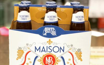 @abitabeer Madison Blanc, an Ale brewed with Sauvignon Grapes, is now available at our Perkins…