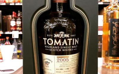 Our hand picked @tomatinwhisky 12 year old cask strength pick has finally arrived from across…