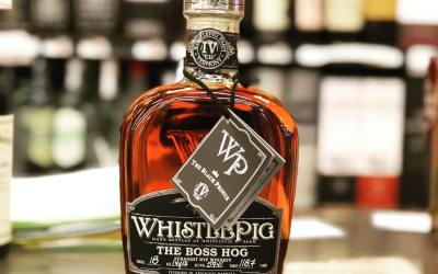 """We just received the Fourth Edition of @whistlepigwhiskey The Boss Hog, """"The Black Prince"""" at…"""