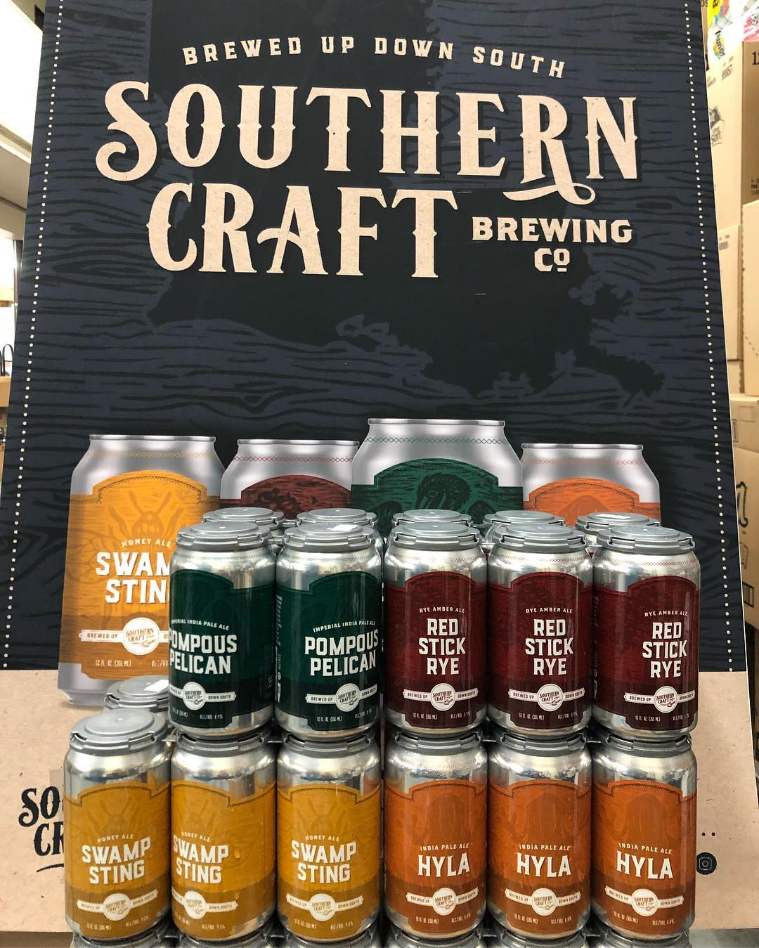 @socraftbeer is now available in CANS at our Perkins Rd location! #drinklocal #freshhops #batonrouge #welcome…