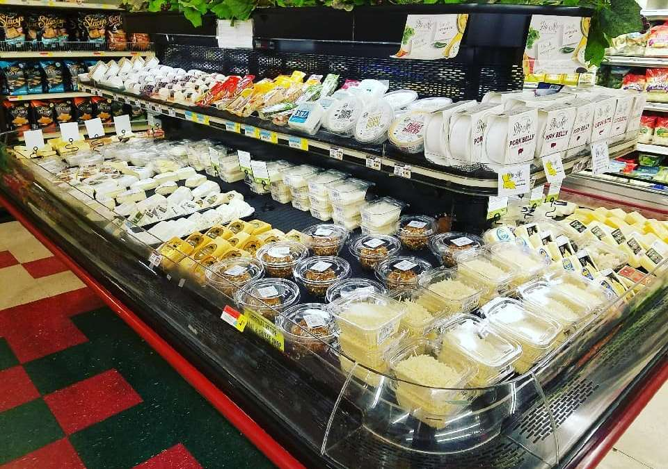 Mrs. Willie Mae has been hard at work on her Cheese Display for Christmas @…