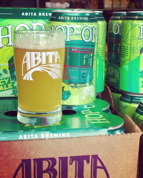 @abitabeer Hop-On Juicy Pale is now available at our Perkins Rd location! #finally #beer #drinklocal…