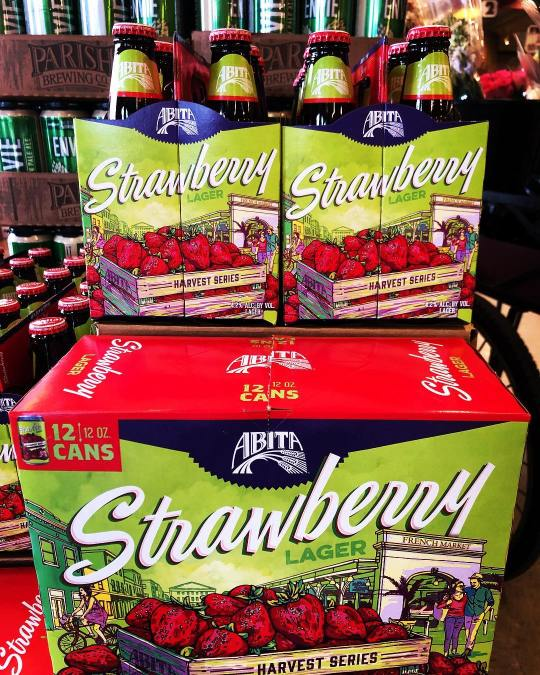 @abitabeer Strawberry Lager has finally landed at our Perkins Rd location, just in time for…