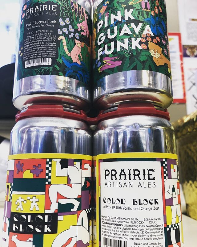 Yep new highly limited @prairieales now in stock at our Perkins Rd location! #newbrewthursday #beer…