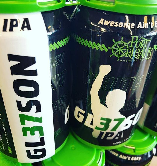 @portorleansbrewingco GL37SON Hazy IPA is now available at our Perkins Rd location! A portion from…