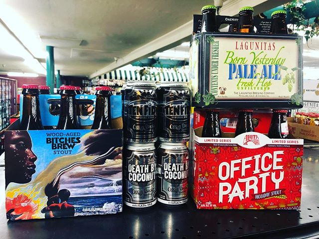 New brews in stock at our Mid-City location!! Come check out the progress on the…