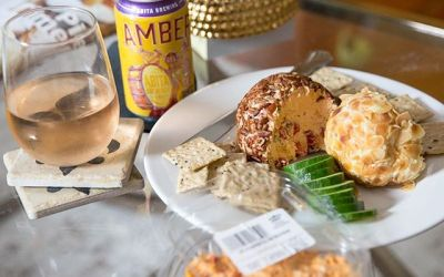 Entertaining this weekend ?! Calandro's handmade in-store dips and cheese balls are always a hit…