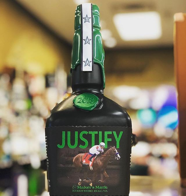 @makersmark Justify special edition to honor the triple crown winner, is now available at our…