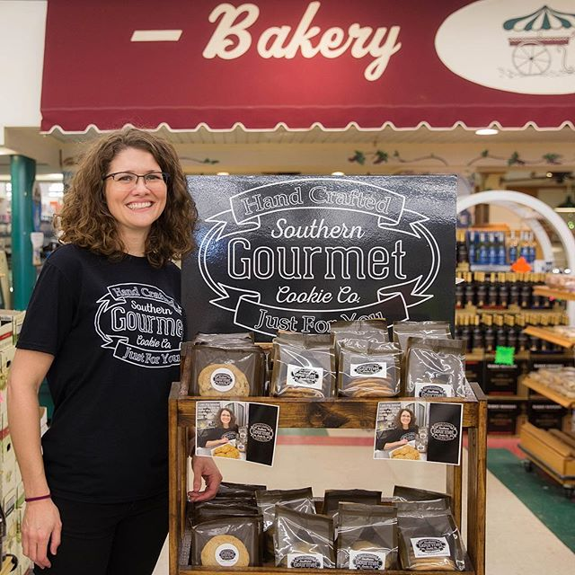 Meet Jen. She makes super yummy southern inspired gourmet and made with love cookies !!…