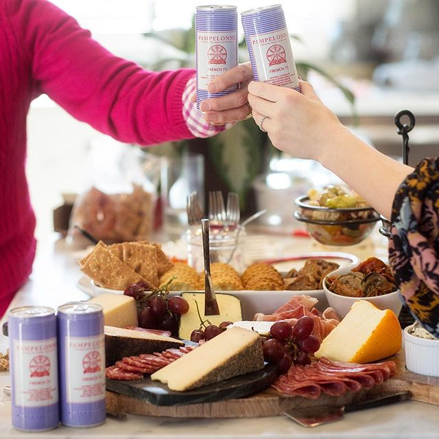 However you plan to celebrate the new year, these canned cocktails from @enjoypampelonne are a…
