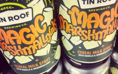 @tinroofbeer Magic Marshmallow is now in stock just in time for #stpaddysday at both locations!…