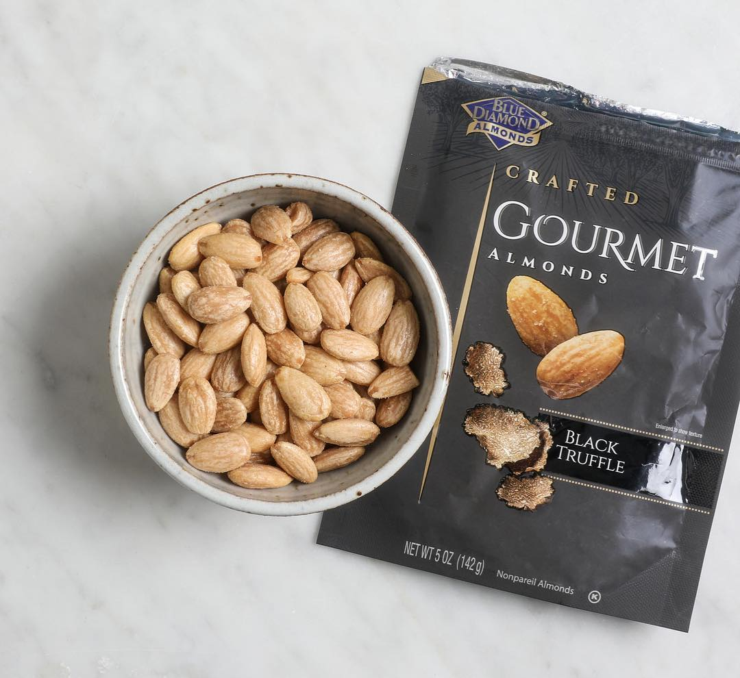 """Did you know Truffle Almonds were voted the best snack of 2018 by """"Cooking Light""""…"""