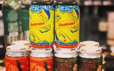 New brews now available from @gnarlybarley and @soprobrewco NOW at our Perkins Rd location! #beer…