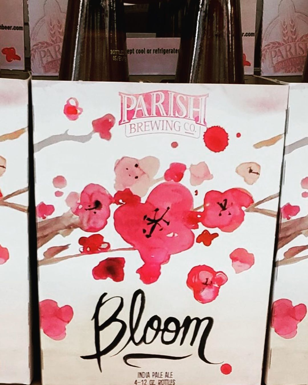 @parishbrewingco Bloom is now in stock at our Perkins Rd location! #beer #drinklocal #haze #summertime…