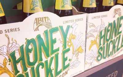 @abitabeer Honeysuckle Saison is now in stock at our Perkins Rd location! #beer #drinklocal #saison…