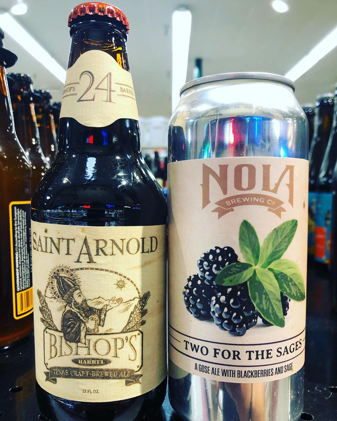 Couple of new brews now in stock at our Perkins Rd location! We also received…
