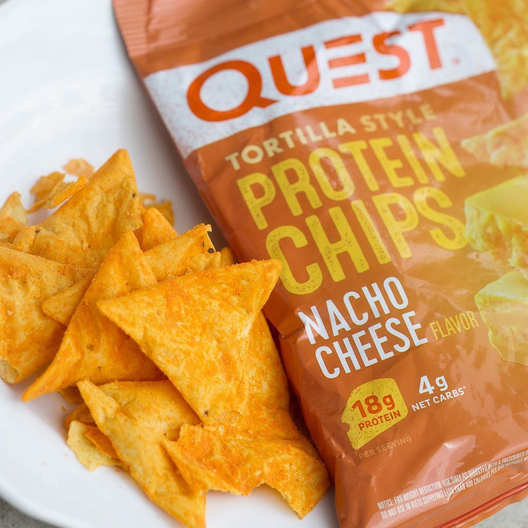 Make that mid day craving for a snack size bag of chips count with @questnutrition…