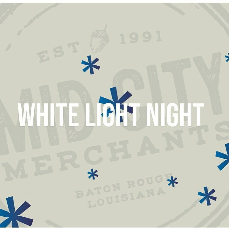 #WhiteLightNight 2019 – bigger, artsier, and foodier than ever! Come join us and the #swampdragon…