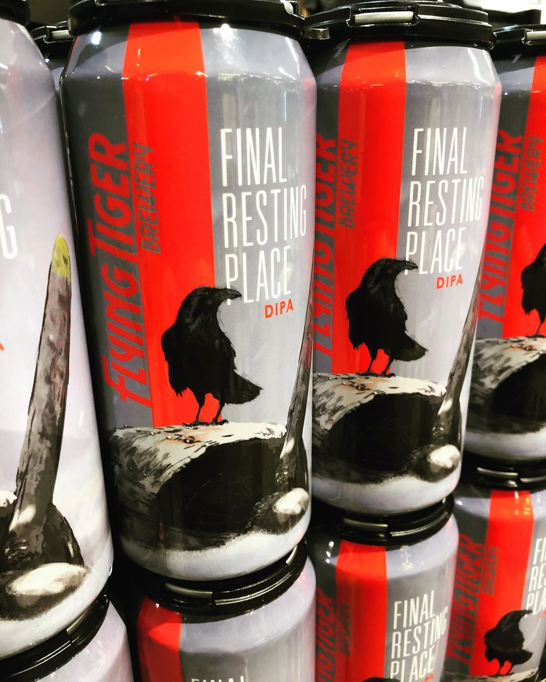 @flyingtigerbrewery Final Resting Place double IPA is back in stock at our Perkins Rd location!…
