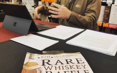Gearing up for #rarewhiskeyraffle time! @mattmoscona & @1045espn are already broadcasting LIVE and we've got…