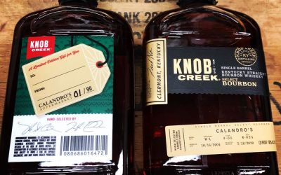 Our newest, almost 15 year old, single barrel select of @knobcreek is now available at…