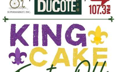 Another Friday, another @jayducote #KingCakeTasteOff y'all! Tune in to @talk1073br @ 4:15p TODAY to hear…