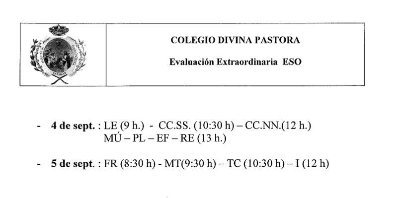 Evaluación Extraordinaria SEPTIEMBRE.pdf (1 página) Vista Previa, hoy at 12.24.50