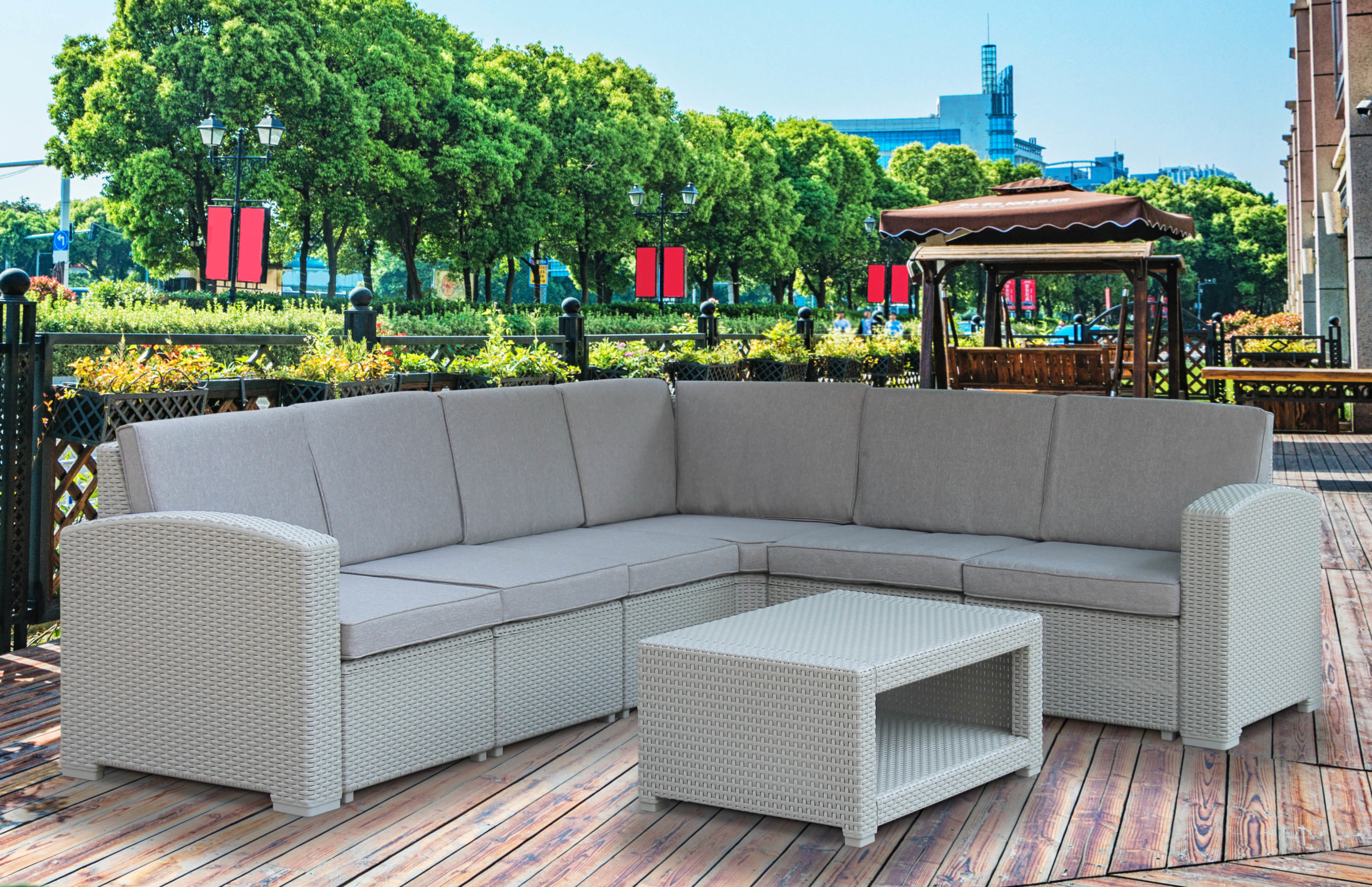 Fine Living - Sanremo Patio set - Calasca Resellers on Fine Living Patio Set id=66694
