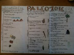 Geologic Time Brochure example 3