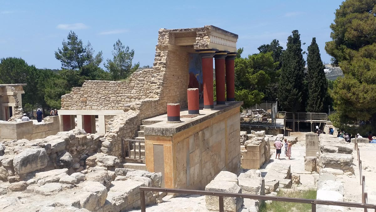 Knossos Crete, Greece