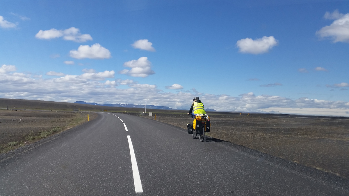 Iceland by bicycle