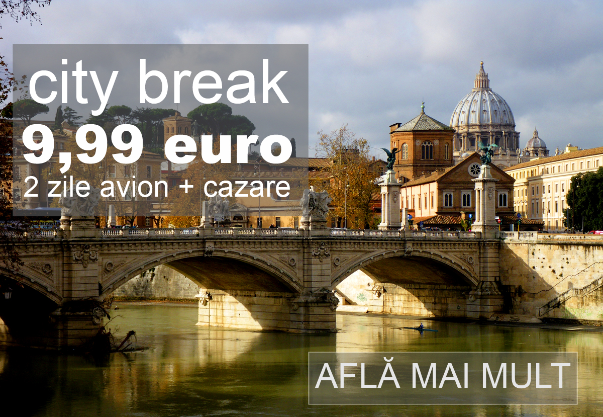 Oferta Black Friday City Break Roma