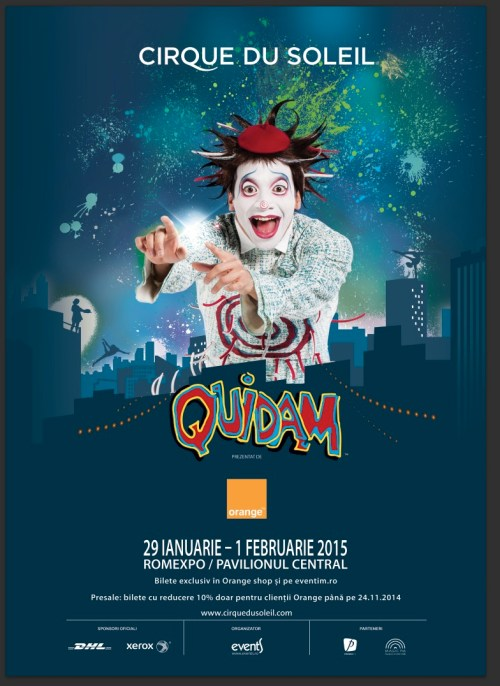 Poster Quidam - presale
