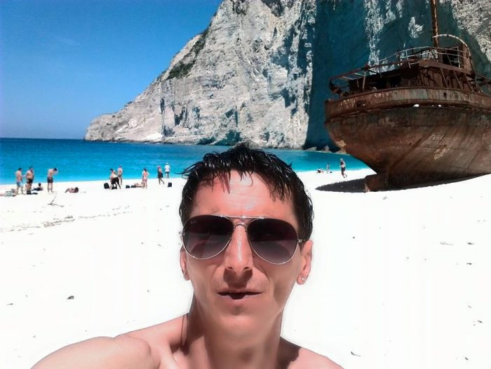 Selfie pe Navagio