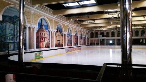 patinoarul din Cernauti