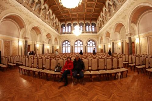salonul unde s a semnat unirea