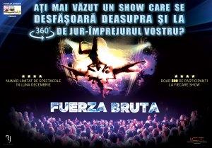 Fuerza Bruta – un show incredibil!