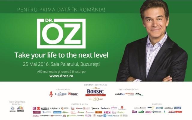 Conferinta Dr Oz la Sala Palatului