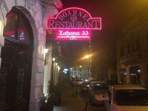 Restaurantele Zahana