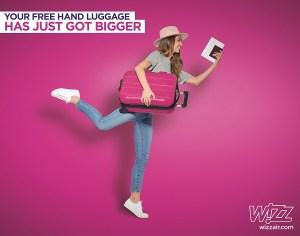 Bagaje la WizzAir