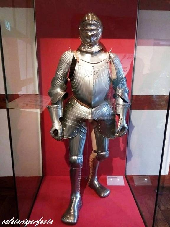 Armura cavalerilor ce locuiau la castel