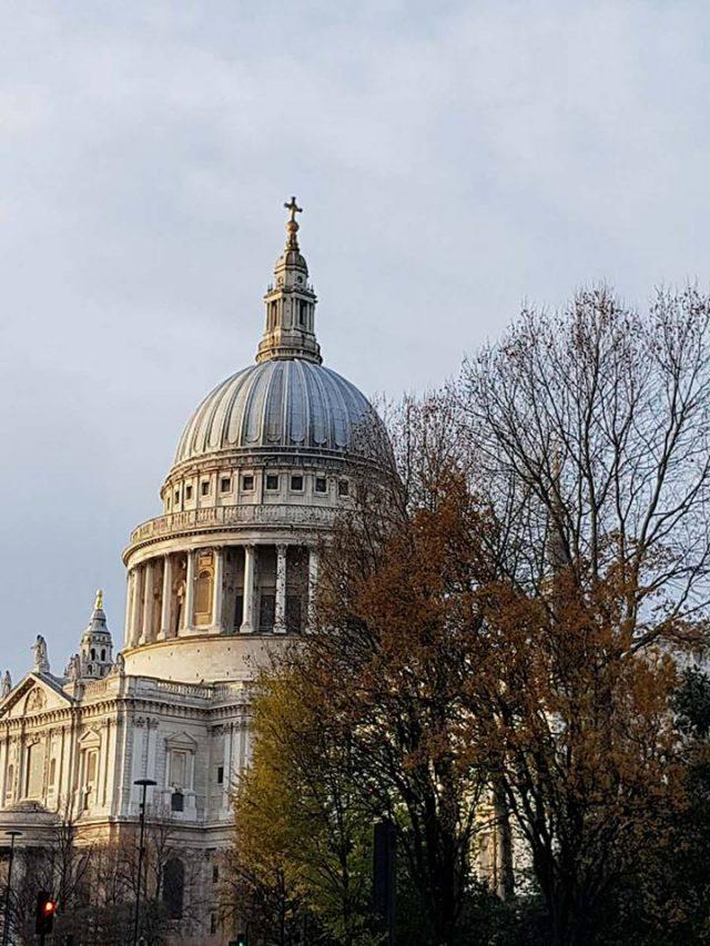 Catedrala St' Paul din exterior