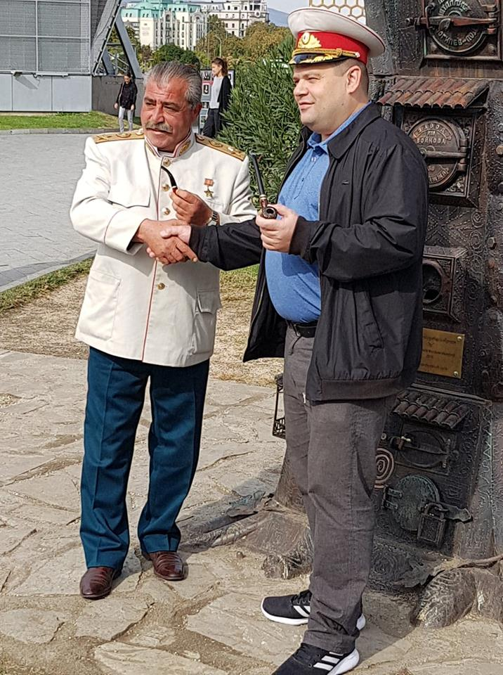 stalin in tbilisi