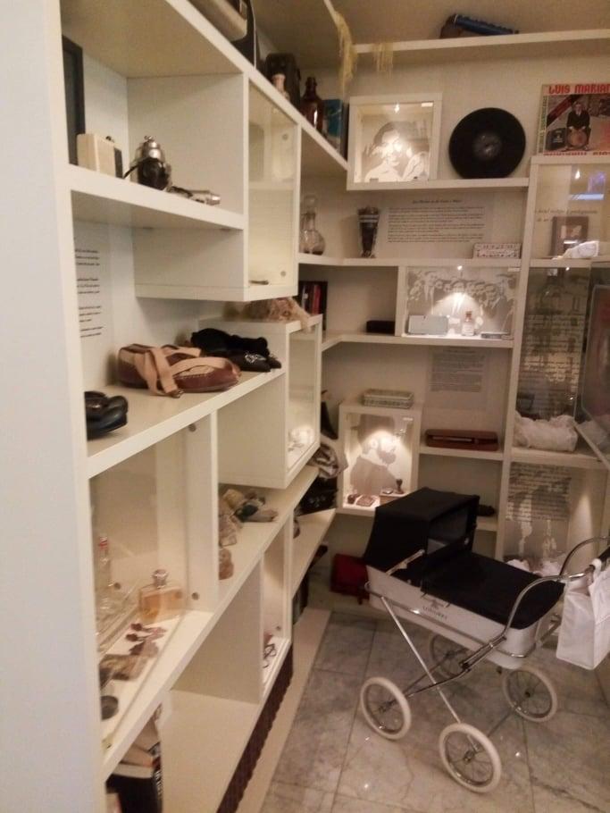 micul muzeu din lobby
