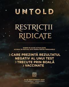 untold restrictii