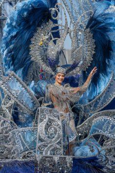Sara Cruz Teja, Regina Carnavalului din Tenerife, 2020