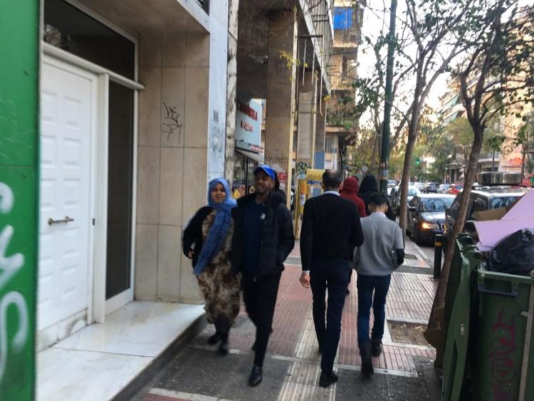 Atena migrantilor